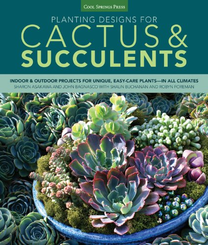 Planting Designs for Cactus & Succulents: Indoor and Outdoor Projects for Unique, Easy-Care Plants--in All Climates
