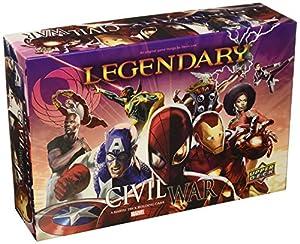 ADC BlackFire Entretenimiento ud86036-Legendary: A Marvel Deck Building Game-Civil War Ampliación-Inglés