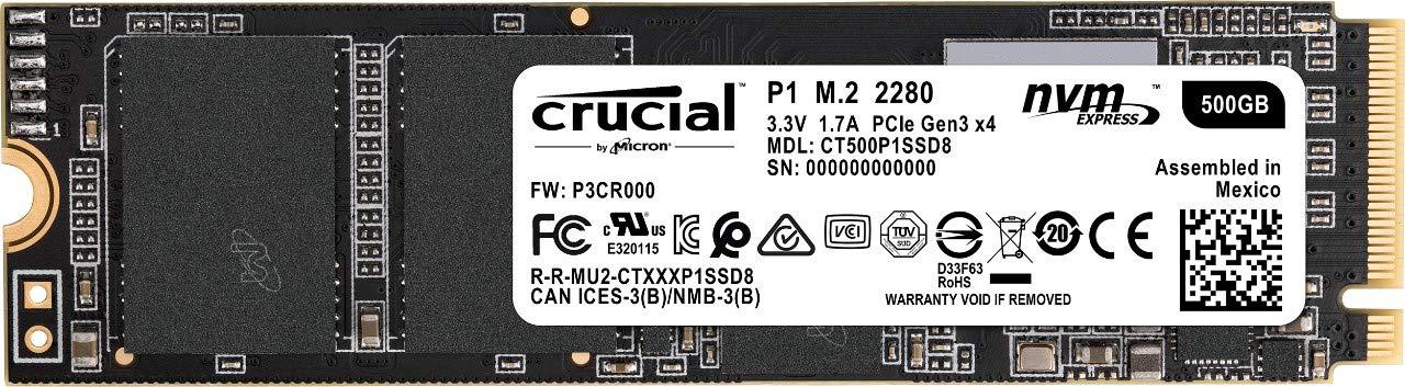 Crucial P1 Internes SSD