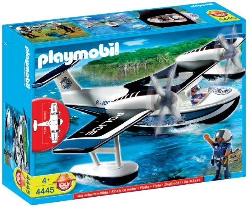 playmobil police avion