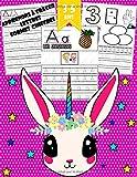 Apprenons à tracer: lettres, chiffres, formes: Cahier d'activités pour enfants pour enfants âgés de 3 à 5 ans / (Licorne)