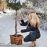 Frostschutz-Heizkabel, Temperatur reguliert (50 W), Länge 6m