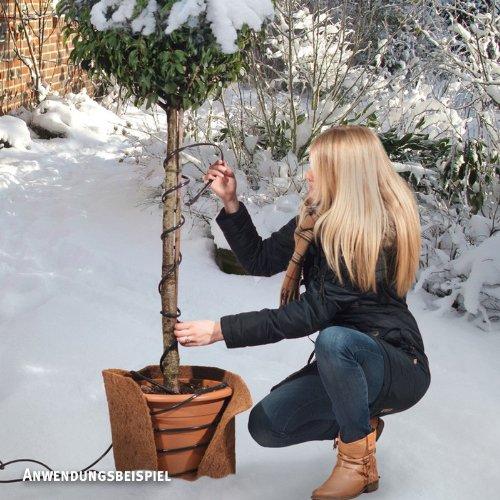 Videx Frostschutz-Heizkabel, Temperatur reguliert (20 W), Länge 2m