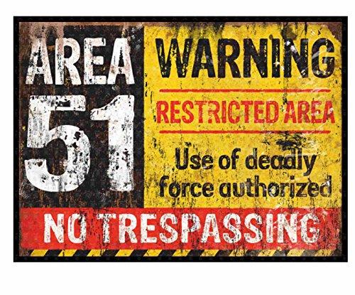 MG033 / Warning Aufkleber ca. 10,3x7,5cm Hot Rod V8 Vintage Area 51 Alien UFO Tuning Oldtimer Low Deep