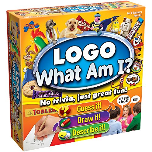 Drumond Park LOGO What Am I? Logo Family Board Game