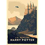 Poster vintage Harry Potter 28 cm x 43 cm (280 mm x 430 mm) - Cadeau décoratif