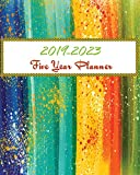 2019-2023 Five Year Planner: Colorful Cover, 60 Months Calendar Planner Agenda, Monthly Schedule Organizer with Holidays