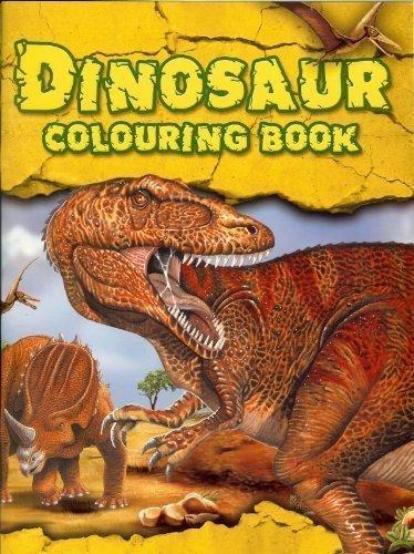 dinosaurio: libro para colorear