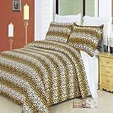 Luxury 3pc Cheetah King/Cal king Duvet c...