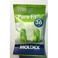 Pura Fit 7700, tappi per le orecchie Moldex, 25 paia + scatolina 3M, SNR = 36 dB, protezione dell'udito, wadle-shop®