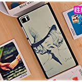 Prevoa ® 丨Xiaomi MI 3 Mi3 M3 Funda - Colorful Hard Plastic Funda Cover Case para Xiaomi MI 3 Mi3 M3 5,0 Pulgadas Android Smartphone - 8