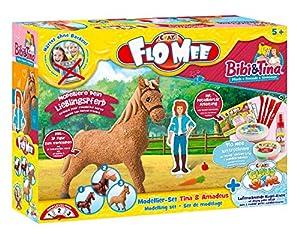 CRAZE CloudSlime FloMee FLO MEE y Cloud Slime Set de Modelado Tina y Amadeus Kit de Manualidades 15155, Multicolor