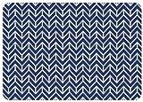 Bungalow Bodenbelag Premium Komfort Fußmatte, 22von 79cm, Bremen, blau