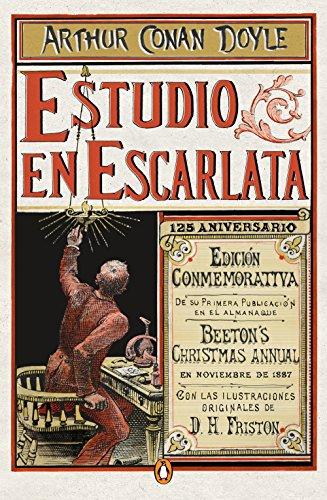 Estudio en escarlata (edición conmemorativa) (Los mejores clásicos) por Sir Arthur Conan Doyle