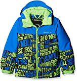 O'Neill Jungen Hubble Jacket, Green AOP, 176