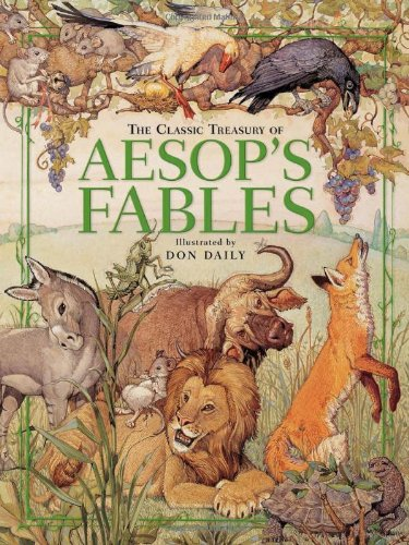 the-classic-treasury-of-aesops-fables