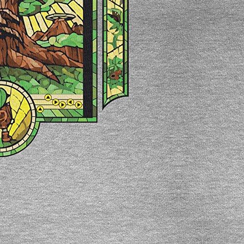 Planet Nerd - The Boy without a Fairy - Herren Langarm T-Shirt Grau Meliert