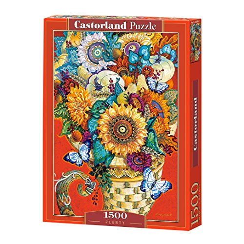 CASTORLAND Plenty 1500 pcs Puzzle - Rompecabezas (Puzzle Rompecabezas, Arte, Niños y Adultos, Niño/niña, 9 año(s), Interior)