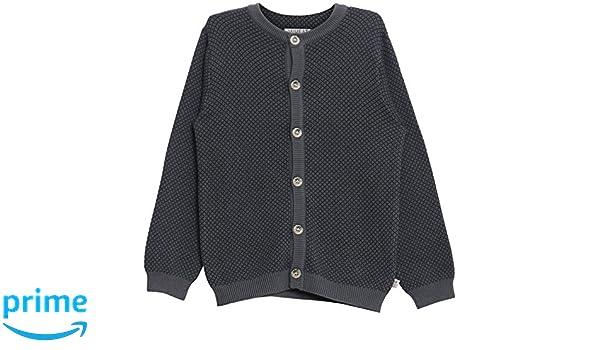 WHEAT Knit Cardigan Kasper, Gilet Gar?on, (Turbulence 1603), 98 cm (Taille Fabricant: 3Y)