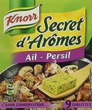 Knorr Assaisonnement Secret d'Arômes Ail Persil 9 Cubes 90 g