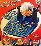 Jeu LOTO BINGO Complet Boulier + 90 Boules + 48 Cartons + Jetons NEUF CompletJeu LOTO BINGO Complet Boulier + 90 Boules + 48 Cartons + Jetons NEUF Complet