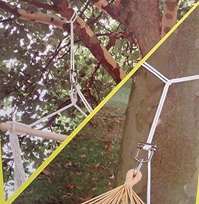 Decken- oder Baumbefestigung für Hängesessel und Hängematten von Leguana Handels GmbH bei Du und dein Garten