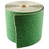 5m x 115mm 180grano verde rollos de lija para lijadora de mano y máquina