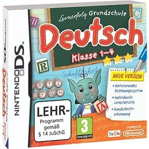 Lernerfolg Grundschule Deutsch 1. – 4. Klasse (neue Version) – [Nintendo DS]