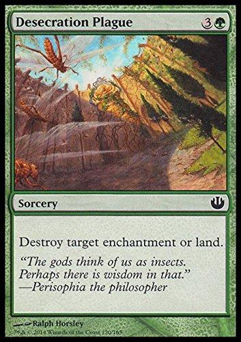 Magic: the Gathering - Desecration Plague - Piaga della Profanazione - Journey into Nyx - Foil