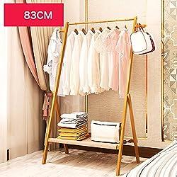 MIRUKU Bambú Percheros Burro Zapato Estante Zapatero, Impermeable Simple Desmontaje Estante De Almacenamiento Adultos Rack Percheros De Entrada para Dormitorio Closet Baldas-C L83cmxW38cmxH156cm
