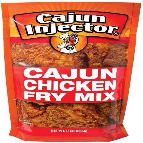 Cajun Injector 9 Ounce Spicy Chicken Fry Batter Mix by Cajun Injector (Cajun Mix)