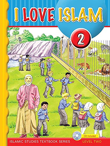 I Love Islam Textbook: Level 2 (With CD)