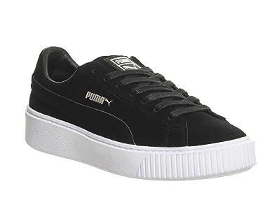 puma basket nere e bianche
