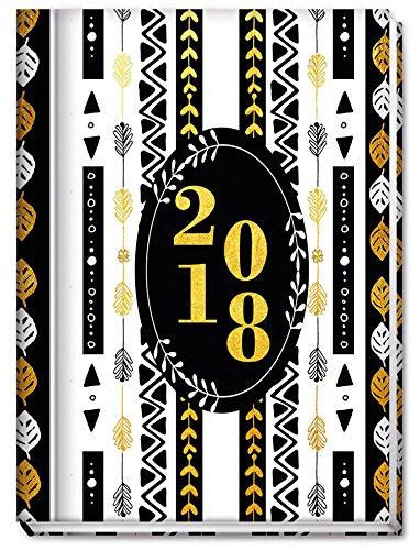 Terminplaner 2018 A6 / Hardcover mit Fadenheftung / Wochenkalender Taschenkalender A6 / Kalender / wöchentliche Notizen / monatliche Ziele & To Dos - von Sophies Kartenwelt