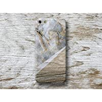 Holz Weiß Marmor Hülle Handyhülle für iPhone 4 4s 5 5se se 5C 5S 6 6s 7 Plus iPhone 8 Plus iPod 5 6