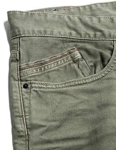 Replay Waitom - Jeans - Droit - Homme Vert (military Green 40)