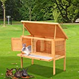 Popamazing Rabbit Guinea Pig Hutch Small Animal House