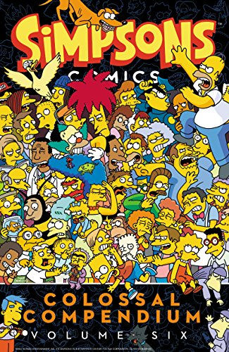 Simpsons Comics Colossal Compendium Volume 6 por Matt Groening