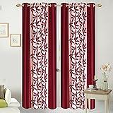 ShopGalore 8 Piece Polyester Door Curtai...