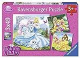 Ravensburger - 09346 5 - Puzzle - Belle, Cendrillon et Raiponce - 3X 49 Pièces