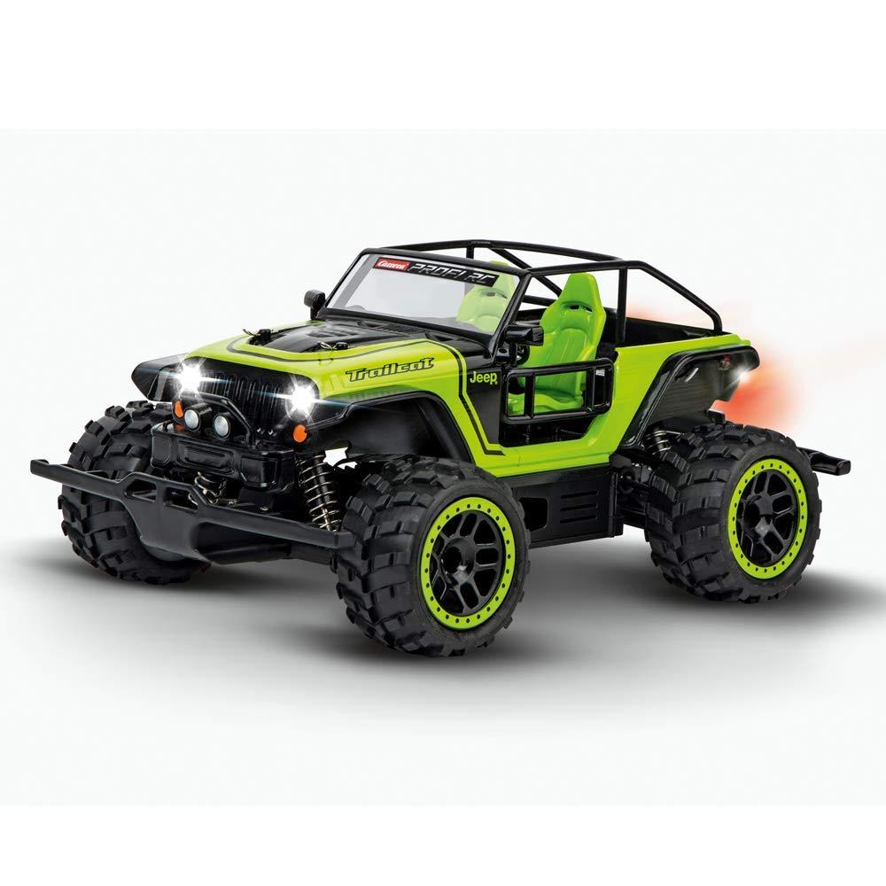 carrera rc profi jeep trailcat ferngesteuertes auto. Black Bedroom Furniture Sets. Home Design Ideas