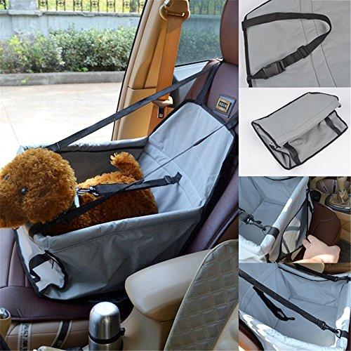 Atmungsaktive Haustier Auto Matte Tasche Verdickung Haustier Auto Tasche wasserdichte Auto Tasche Hund Auto Tasche (Farbe : Gray)
