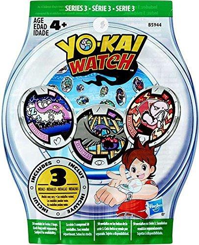 Yo-Kai Watch Series 3 YOKAI MEDALS Mystery Pack by Yokai Watch