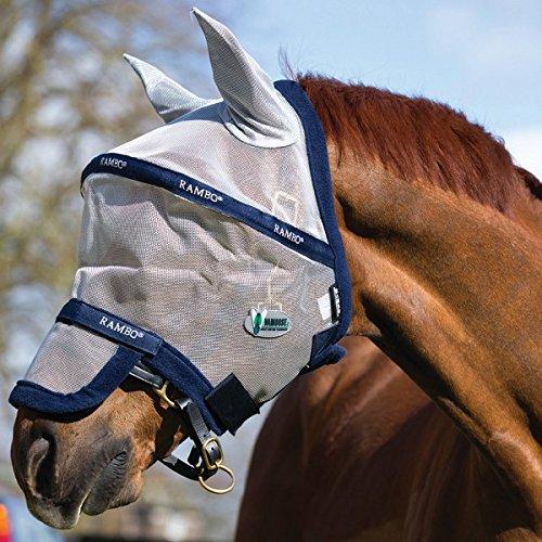 Horseware Rambo Plus Fly Mask Vamoose Gesichtsmaske Größe WB Test