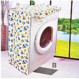 Seguryy - Protector impermeable para lavadora con motivos florales, tipo B