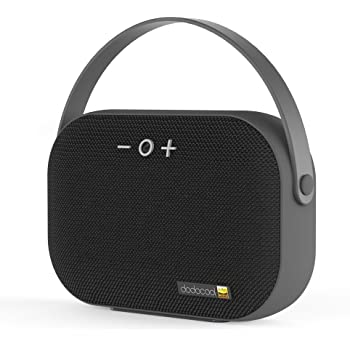 dodocool Wireless Bluetooth Speaker with Microphone, Outdoor Portable Speakers Support TF Card and USB Disk Reader ( 6-Hour Playtime, Hi-Resolution )