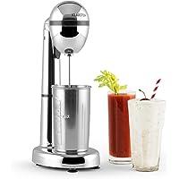 Klarstein van Damme Drink-Mixer Shaker 100W 450 ml Edelstahl-Mixbecher silber
