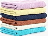 Bombay Dyeing Muticolour Hand Towel Set of 4 Pcs