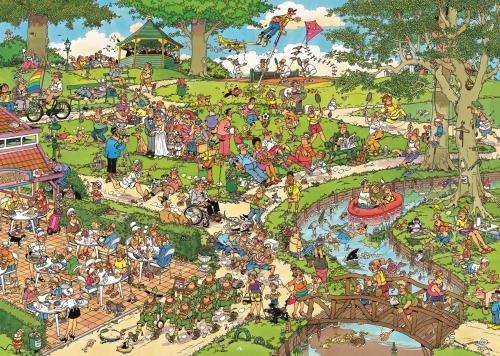 Imagen principal de Jumbo - Puzzle The Park, 1000 piezas (01492)