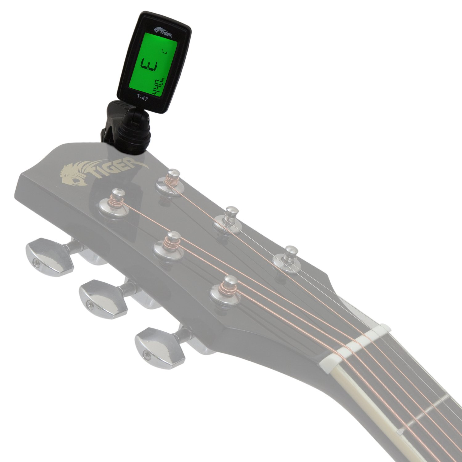Clip On Guitar Tuner >> Clip On Guitar Tuner Chromatic Tuner For Guitar Ukulele And